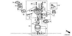 Honda Engines Gx120ut2 Wkt2 Engine  Tha  Vin  Gcbmt