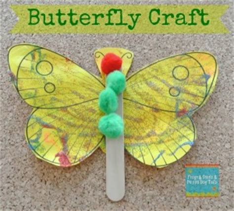 butterfly craft  great activity    hungry caterpillar fspdt