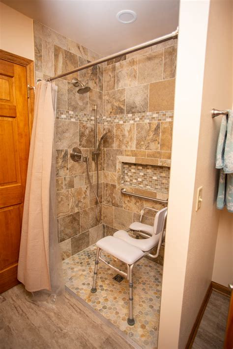 wheelchair accessible bathroom shower smart accessible
