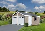 Prefab Two-Car Garages in KY & TN   Esh's Utility Buildings