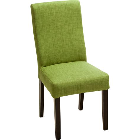 furniture cool green parson dining chairs design ideas