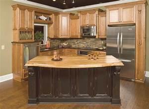 Vintage Onyx Distressed finish kitchen cabinets