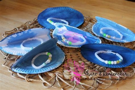 Ocean Commotion>> Oyster Pearls Preschool Craft