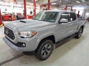 New 2018 Tacoma Double Cab 6 Speed Manual Trd Sport 4x4