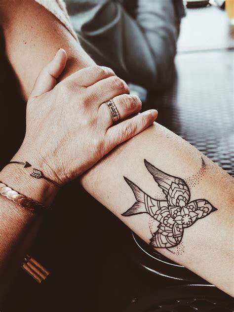 mandala bird tattoo tattoo cuff bracelets tattoos