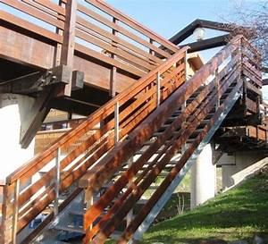 Escalier Extérieur En Bois : fabricant d 39 escalier escalier m tal bois verre design ~ Dailycaller-alerts.com Idées de Décoration