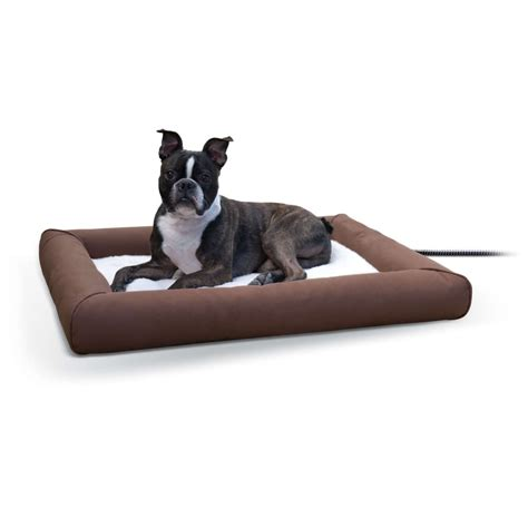 k h pet products deluxe lectro soft heated pet bed petflow