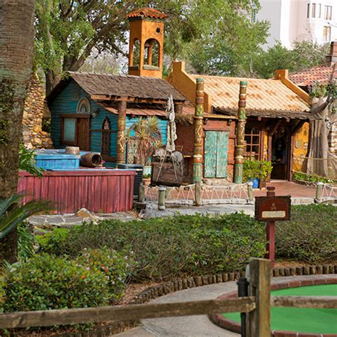Be sure to check them out and follow along on facebook and instagram. Pirate's Cove Adventure Golf - Orlando, FL