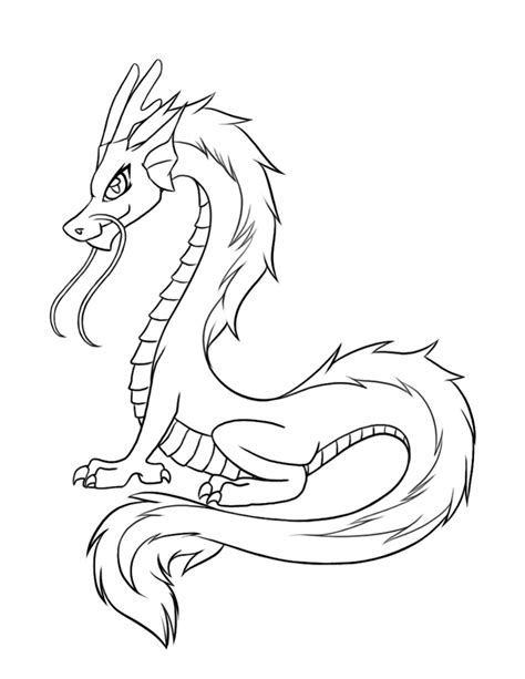 Dragon Snake Coloring Pages