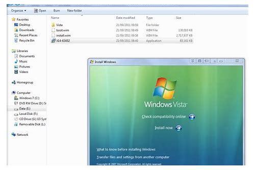 download installer for windows vista
