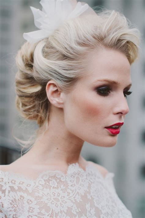 1950s Wedding Hairstyles by 29 Stunning Vintage Wedding Hairstyles Mon Cheri Bridals
