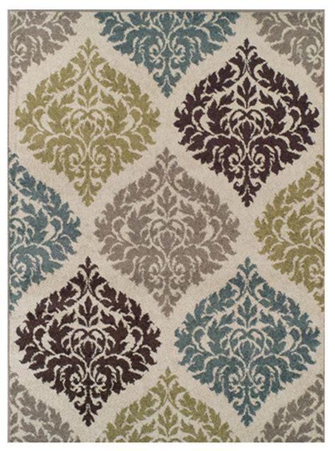 area rug  add  pop  color modern martha