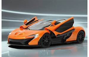 McLaren P1 114 27MHz manual door orange, JamaraShop