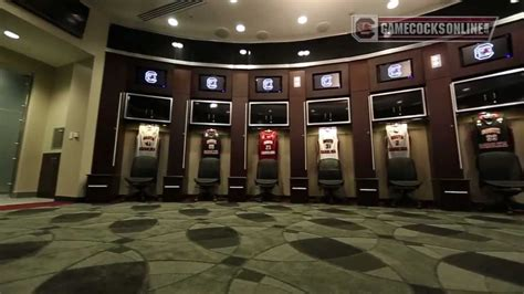 south carolina mens basketball locker room youtube
