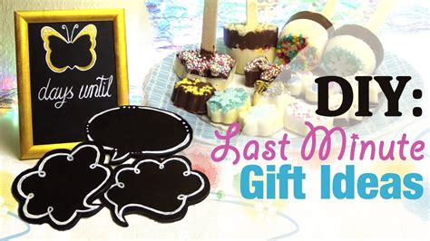 gifts for 20 year olds last minute diy last minute gift ideas birthday s day