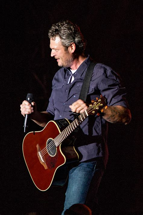 blake shelton guitar blake shelton guitar 2 photograph by mike burgquist