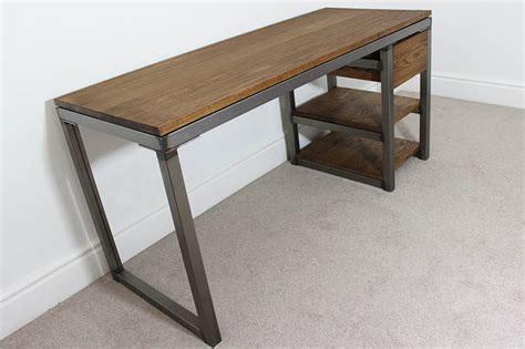 industrial office desk industrial desks bespoke vintage style office uk