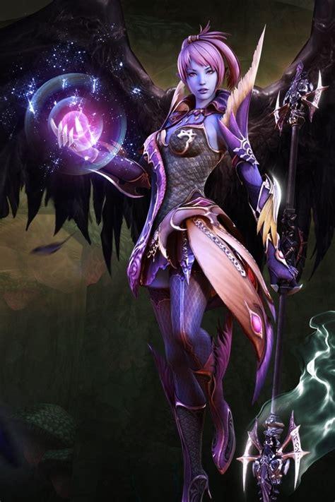 demon warrior  battle  rainaflax  deviantart