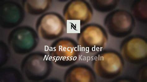 nespresso kapsel recycling  deutschland youtube