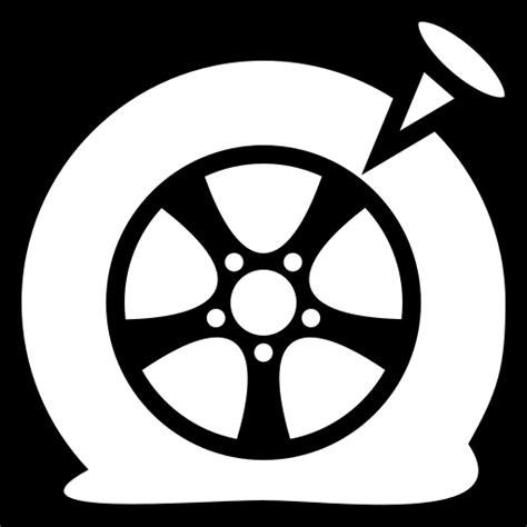 flat tire icon game iconsnet