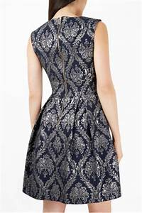 closet damask jacquard dress from michigan by sparrow With damask fabric dress
