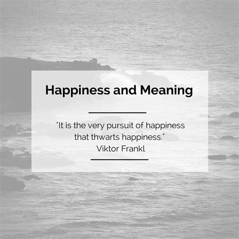 The Marriage Of Meaning And Happiness