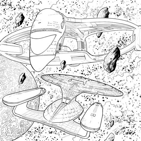 trek coloring book trek free colouring pages