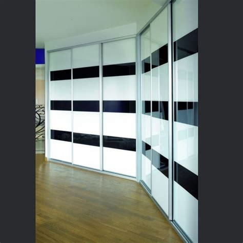 porte en verre sur mesure portes de placards design et r 233 alis 233 sur mesure en verre laqu 233 bicolore http www rangeocean fr
