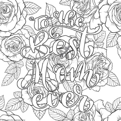 mom  coloring pages getcoloringpagesorg