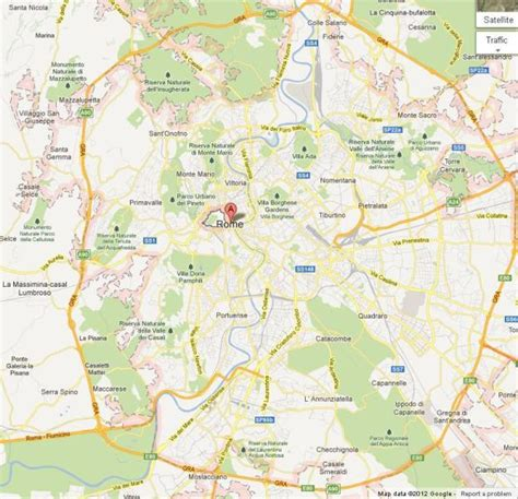 map  central rome