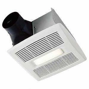 Bathroom fan light invent series 90 cfm rona for 90 cfm bathroom fan