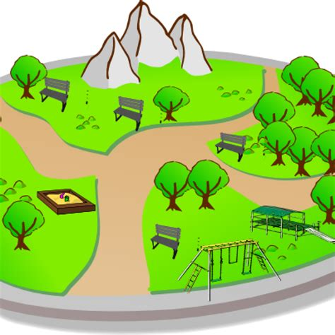 Park Clip Park Clipart City Clip At Clker Vector Royalty