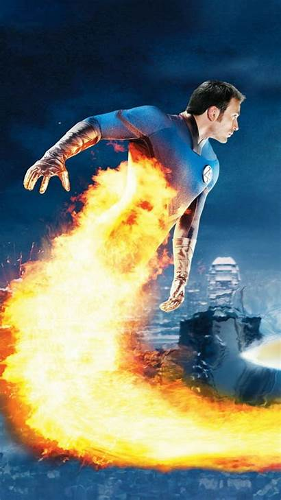 Fantastic Surfer Human Torch Resolution