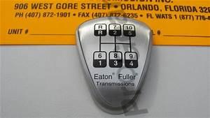 5586107 Eaton Fuller Shift Medallion Valve Transmission Parts