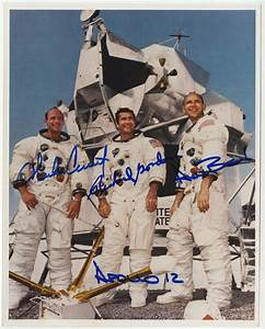 Lot Detail - Lot of (4) Apollo Astronauts Signed Photos ...