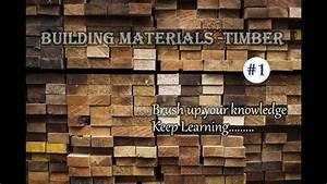 Building Materials - Timber