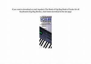 New Pdf  U0026 39 18 Gig Bag Book Of Scales For All Keyboards  Gig