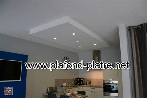 plafond de cuisine design cuisine moderne des idées de faux plafond plafond platre