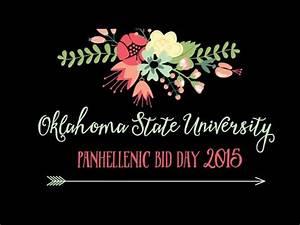 Oklahoma State University Bid Day 2015 Highlights - YouTube
