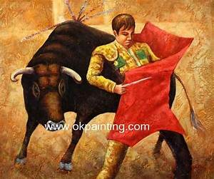 Spanish Cultural Oil Painting | Cultural Art Pieces ...