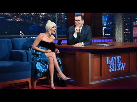 Full Interview Lady Gaga Talks To Stephen Colbert
