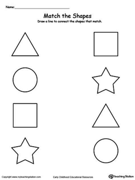 Permalink to 2d Shape Flashcards Large First 4 Shapes
