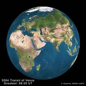 NASA - Predictions for the 2004 Transit of Venus