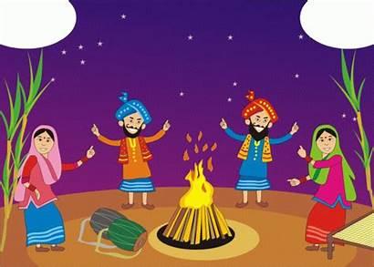 Lohri Festival Harvest Lines Essay Happy Masala