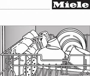 Miele Dishwasher G 2432 User Guide