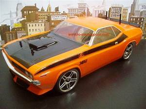 1970 DODGE CHALLENGER Custom Painted RC Touring Car / RC ...