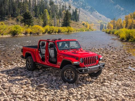 jeep gladiator pickup truck debuts    ford chevy  toyota business insider