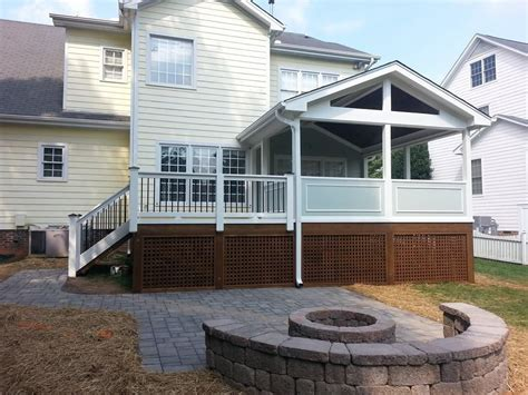 a raleigh deck screen porch builder 3 season room