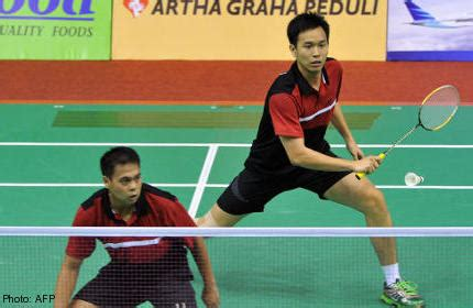 indonesia rules  racket sports  games