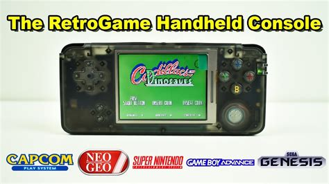 handheld emulator console retrogame handheld emulator console review